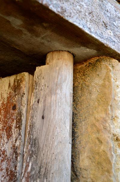 monoxyl wooden hinges