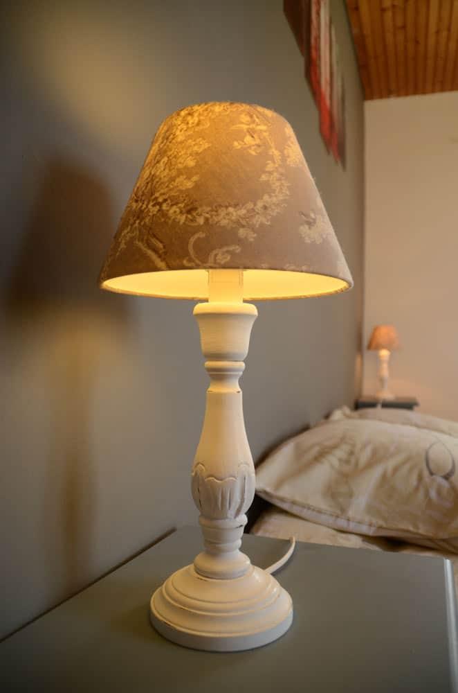 Lampes de chevet inspiration romantique