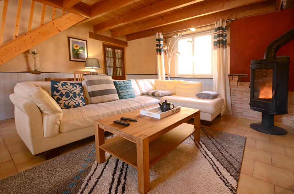 Salon canapé cuir 6 places pour 5 personnes