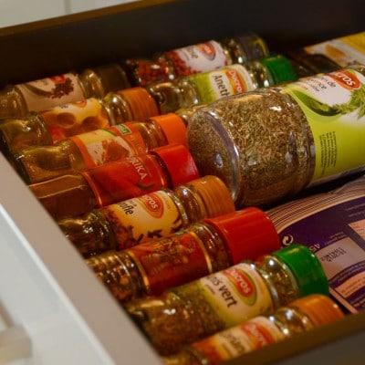 Le tiroir aux épices