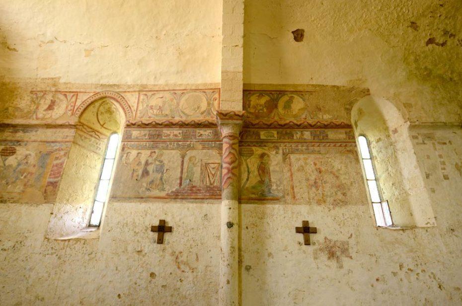 Les peintures médiévales de Notre Dame du Vieux Pouzauges