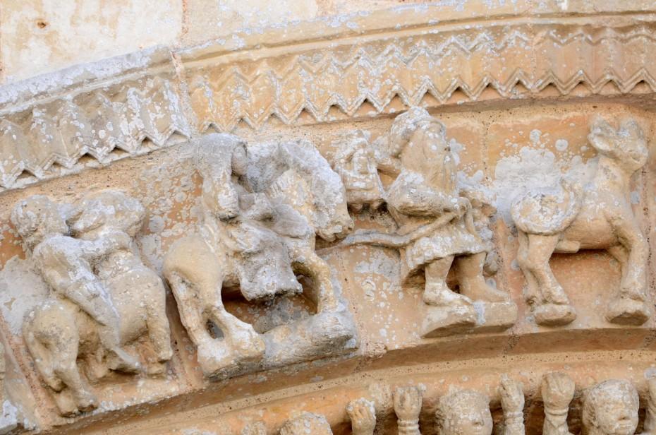 La fuite en Égypte église de Vouvant