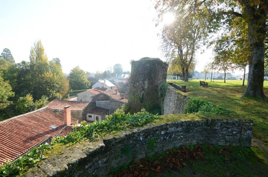 Les remparts de la cité de Vouvant